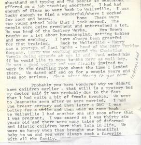 Alda Mae Graves Jacobs 1918 letter pg2