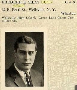Frederick Silas Buck 1918 U of PA